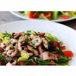 Salade poelée de calmars persillées