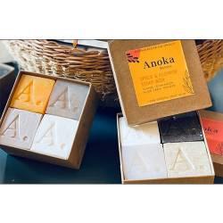 SOAP BOX SPICE & FLOWER (savon 42g - boîte de 4)