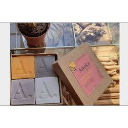 SOAP BOX SWEETY & FRUITY (savon 42g - boîte de 4)