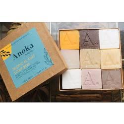 SOAP BOX TROPICAL MIXT (savon 42g - boîte de 9)
