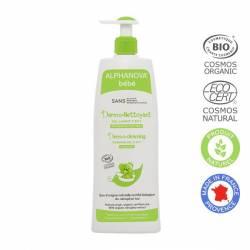 ALPHANOVA Dermo nettoyant cheveux & corps bébé Bio - 500 ml