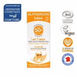 ALPHANOVA Soin solaire bébé SPF50+ BIO - 50g