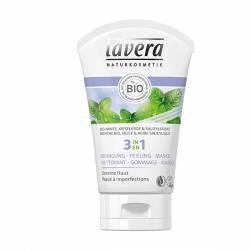 LAVERA 3en1 Nettoyant, gommage, masque - 125 ml