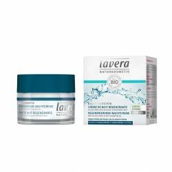 LAVERA Basis sensitiv, Crème de nuit régénérante - pot 50 ml