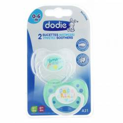 DODIE SUCETTE DUO SILIC 0-6M
