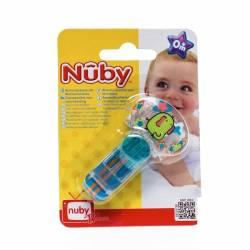 NUBY ATTACHE SUCETTE FERMETURE VELCRO PP +0M