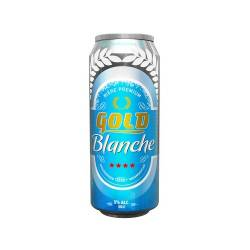 GOLD BLANCHE CANETTE 50CL