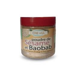 POUDRE DE SESAME ET BAOBAB
