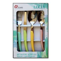 LOLLY MENAGERE 16 PIECES