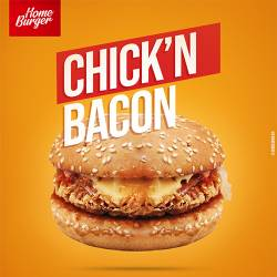 CHICK'N BACON