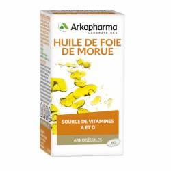 ARKOPHARMA HUILE DE FOIE DE MORUE GLE B/60