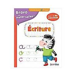 BRAVO LES MATERNELLES (GS) - ECRITURE