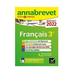 FRANÇAIS 3E - SUJETS & CORRIGÉS