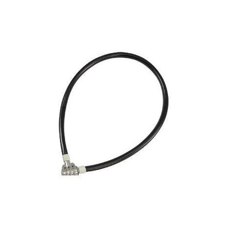 Antivol velo cable a code 65cm rangers