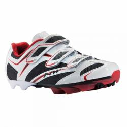CHAUSSURE NORTHWAVE VTT SCORPIUS 3S WHITE/BLACK/RED P43