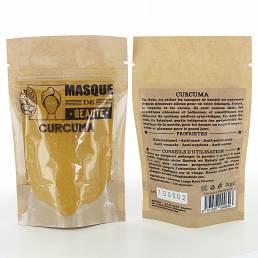 Masque de beauté Poudre de Curcuma 25 g