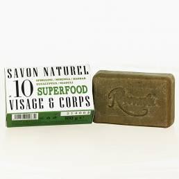 10 SAVON NATUREL SUPERFOOD