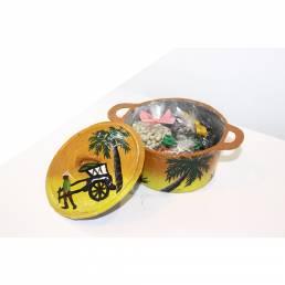 Épices en Marmite décoré