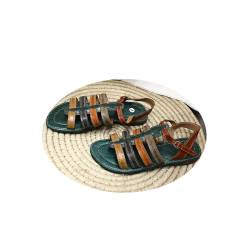 Sandale cuire de zébu