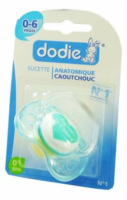 DODIE SUCETTE CAOUTCH 0-6M