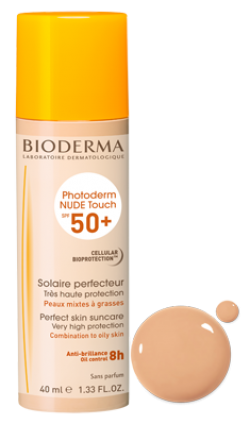 BIODERMA PHOTODERM NUDE TOUCH SPF 50+ CLAIRE 40ML