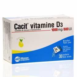 CACIT D3 1000/880MG SHT B/30