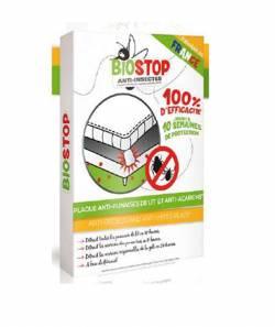 BIOSTOP Plaque anti-punaises de lit et anti acariens