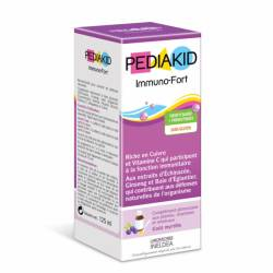 PEDIAKID IMMUNO-FORTIFT SP MYRTILLE ENF 125ML